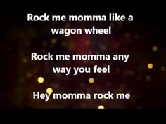 Darius Rucker - Wagon Wheel. Love this song and love him!