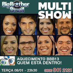 Preparados para espionar a casa mais agitada do Brasil? Hoje, começa a 13ª edição do Big Brother Brasil, que promete muitas surpresas e novidades. Quem é assinante Claro Tv pode acompanhar o reality show também no Multishow, com imagens e noticias exclusivas. Agora se você é muito fã do BBB pode assinar o Pay Per View e ficar ligado 24h na programação.     E ai já tem seu favorito a ganhar R$ 1,5 milhão?     http://www.clarotvparceiro.com.br/