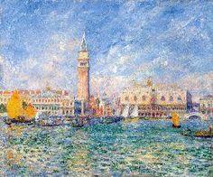 Pierre-Auguste Renoir - Venice (The Doge's Palace)