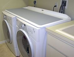 Stunning Folding Table Over Washer And Dryer Whirlpool Duet Work Surface On Top Of The From