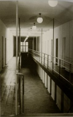 """Photo of corridor of the """"bunker"""" prison cells. Courtesy of MGR/SBG. Learning To Pray, Prison Cell, A Discovery Of Witches, Political Prisoners, Tell The World, Hiding Places, Lest We Forget, Anne Frank, Book Of Life"""