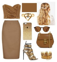 """""""47"""" by mbubbles109 ❤ liked on Polyvore featuring Balmain, Hobbs, ASOS, Ray-Ban, Chloé and Tom Ford"""