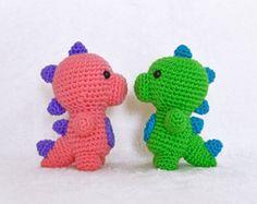 Patrón de Crochet  Unicornio Bebé  Amigurumi 9.5 por BunniesandYarn