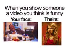 When you show someone a video you think is funny.  The rest of the gifs on this page are good, too.