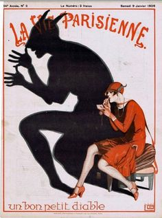 As La Vie Parisienne rightfully points out, there's a little devil in every flapper…