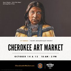 Oct. 14 and 15, over 150 elite artists, representing 50 Native American tribes, will be displaying their finest work at the Cherokee Art Market. Browse the very best in contemporary Native American art at Hard Rock Hotel & Casino Tulsa. Click the link to learn more about this famous art show.