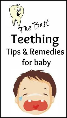 The best Baby Teething Tips and Remedies. These tips have been so helpful! #Artofmoderndentistry