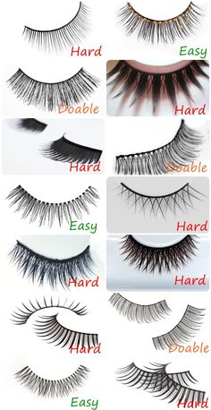 guide to easy false lashes