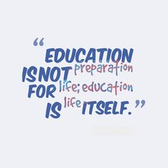 Education is life itself // follow us @motivation2study for daily inspiration