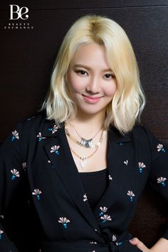 Check out SNSD HyoYeon's interview and pictures from 'Beauty Exchange' ~ Wonderful Generation