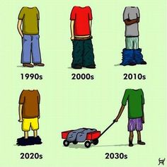 The evolution of trousers