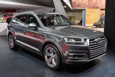 2016 Audi Q7 at the 2015 Detroit Auto Show