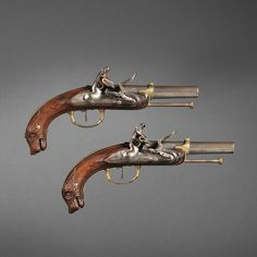 Pair of French Belt Pistols, c. late 18th / early 19th century. |