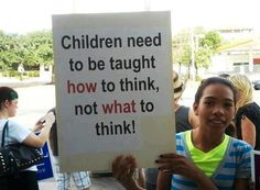 """Critical thinking skills are the key to understanding WHY you think and believe what you do and not just blindly accepting what someone else tells you is """"the truth""""."""