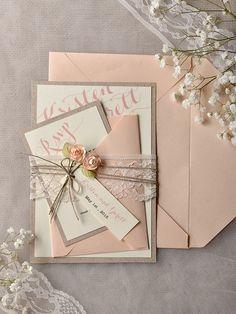 Peach Wedding Invitations, Vintage Wedding Invitations, Wedding Stationary, Mod Wedding, Chic Wedding, Wedding Cards, Wedding Ideas, Trendy Wedding, Wedding Rustic