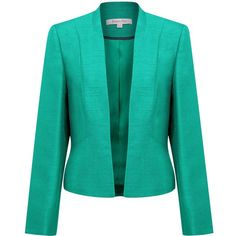 Jacques Vert Jade occasion jacket found on Polyvore
