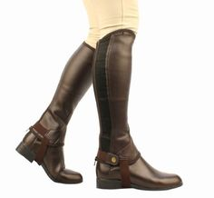 Saxon Womens Equileather Half Chaps Boots Black Medium *** Continue to the product at the image link.Note:It is affiliate link to Amazon.