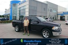 https://flic.kr/p/Fdx5Ei | Happy Anniversary to Charles on your #Dodge #Ram 1500 from Art Sanders at Honda Cars of Rockwall! | deliverymaxx.com/DealerReviews.aspx?DealerCode=VSDF