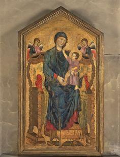 'Da Cimabue a Morandi. Felsina Pittrice', Bologna, Palazzo Fava e Palazzo delle Esposizioni fino al 17 maggio 2015.  Cimabue. Madonna in trono con il Bambino e due angeli