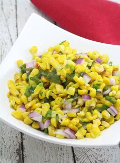 Copycat Chipotle Corn Salsa Recipe | easy to make and nice change from regular salsa