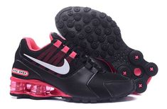 33130d2d458a Classic Nike Shox NZ Black Hyper Pink White Woman s Athletic Running Shoes  Popular Nike Shoes