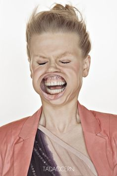 This is a series of portraits by photographer Tadao Cern dirtily called Blow Job, showing people's faces being brutalised by high winds. L'art Du Portrait, Portraits, Medical Humor, Nurse Humor, Vent Violent, Nurse Love, Photography Jobs, People Photography, Color Photography