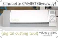 Enter to win a Silhouette Cameo!