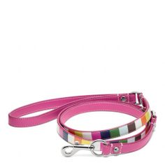 The Printed Legacy Stripe Leather Leash from Coach, okay it is not for me, but for my favorite canine friend Nelli. Abig dog, who thinks she is very small