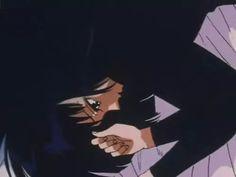 sailor moon, anime, and black image Sailor Moon Aesthetic, Aesthetic Anime, Aesthetic Art, Anime Gifs, Anime Art, Sailor Saturno, Arte Sailor Moon, Cartoon Profile Pics, Old Anime