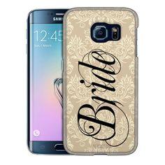 Samsung Galaxy S6 Edge Plus Bride on Damask Trans Case