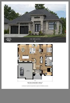Micro House Plans, Small Modern House Plans, Small House Floor Plans, Family House Plans, Best House Plans, Dream House Plans, Bungalow Floor Plans, Modern Bungalow House, Farmhouse Floor Plans