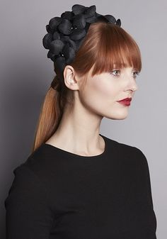 Rachel Trevor-Morgan Millinery offers a wide range of beautiful headdresses and fascinators, using feathers and handmade flowers. Bridal Headpieces, Bridal Hair, Rachel Trevor Morgan, Street Style Trends, Fascinator Hats, Milan Fashion Weeks, Lace Tops, Headdress, Mother Of The Bride