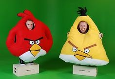 Angry Bird costumes!
