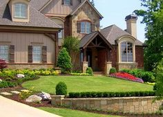 Gorgeous Landscaping Front yard photo | traditional landscape by Elements Landscape LLC Beautiful work