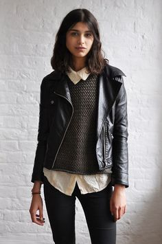 Neo-Preppy Inspo Album - Album on Imgur  See: layering done right. Proportions are perfect here. Need a more cropped sweater for this look I think.