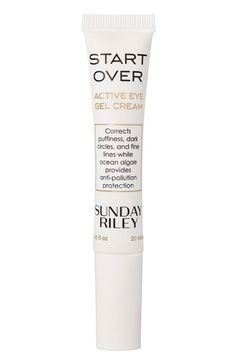 Sunday Riley 'Start Over' Active Eye Gel Cream available at #Nordstrom