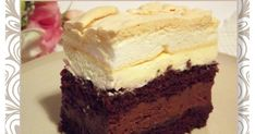 Morze Czarne - ciasto czekoladowe pod bezą Sweets Cake, Cupcake Cakes, Cake Bars, Polish Recipes, Recipes From Heaven, Food Cakes, No Bake Cake, My Favorite Food, Oreo