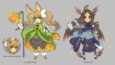 Adopts Auction: Earth and Sky (closed) by cottonpuffs.deviantart.com on @DeviantArt