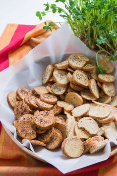 Bagel Chips recipe from PBS Food.