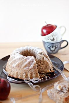Ciambella alle mele e grano saraceno | La ricetta che Vale