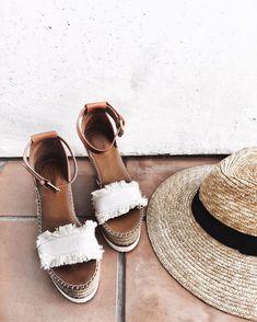 Summer wedges.