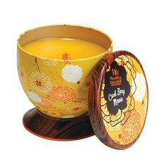 Coral Berry Mimosa WoodWick® Gallerie Candle