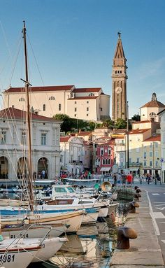 Piran , Solvania.  A pretty town to spend the day.