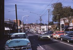 1960 view of Peachtree Street