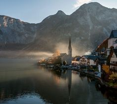 Ultimate Travel Guide to Hallstatt, Austria beautiful attractions, Kalvarienberg Church. Hallstatt, Ultimate Travel, Salzburg, Day Trips, Beautiful Places, Amazing Places, The Good Place, Landscape, World
