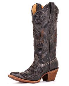 Black cowboy boots :)