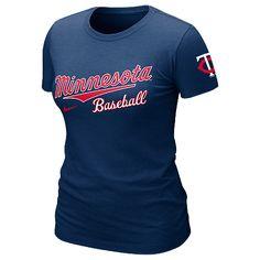 Minnesota Twins Women's Away Practice T-Shirt by Nike - MLB.com Shop