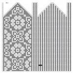 Bilde: Designer Knitting Patterns, Knitting Designs, Diagram Chart, Knit Mittens, Pattern Design, Cross Stitch, Crochet, Handmade, Albums