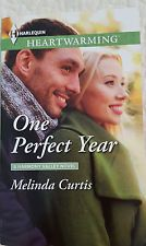 One Perfect Year by Melinda Curtis #83 Heartwarming CLEAN Romance, Larger Print
