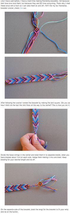DIY friendship bracelet!